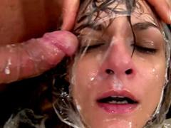 Sexy babe Klarisa Leone was fucked so hard