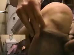 ViP Toilet Masturbation HAIRY Pussy girls