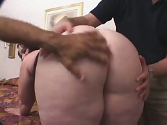 Threesome with a hot BBW