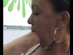 Brazilian Lesbo Domination Lick My Feet