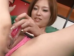 Ena Ouka Japanese Hottie Squirting