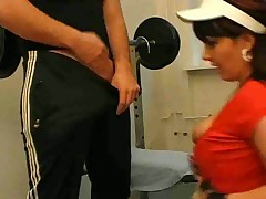 fucked at fitness club