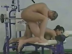 Angelica Bella in the gym
