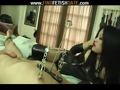 Asian MILF - hot handjob