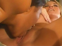 Hot lesbian twins group sex
