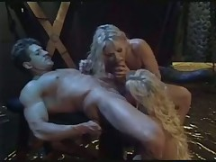 Ultimate fantasy with two stripper