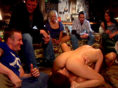 Hardcore orgy party with Jenna Haze and Kirsten Price