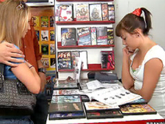 Video store group sex