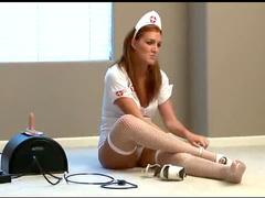 Naughty nurse milf is sexy