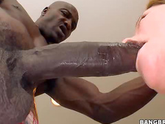 Milf makes love to black