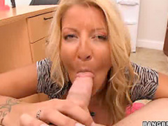 Hungry milf appreciates big cock