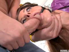 Victoria Valentina is getting fucked in her tasty snatch