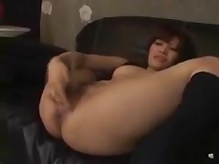 Asian girl squirts