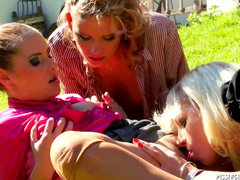Bella Morgan,Regina and Zuzana Z are three horny lesbians