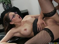 Asian coworker takes his cock