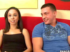 Lustful sex with Latina whore