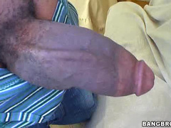 Ethnic chick sits on dick