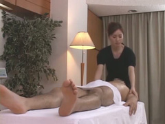 Blowjob after Japanese massage