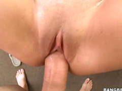 Big tit chick loves dick