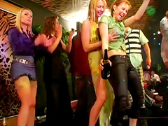Perverted hardcore party with slutty babes