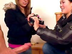 Chicks with a camera make porn