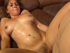 Chrissy Nova being drilled in her trimmed pussy