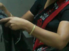 Indian chick in bathroom