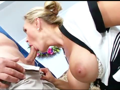 Wide ass cock riding milf