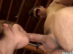 Fuck sluts nailed in garage