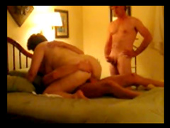 Amateur wife pounded by friend