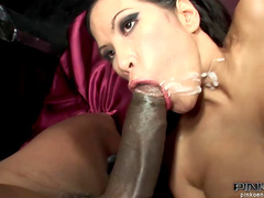 Asia Devill is sucking sweet tasty dick