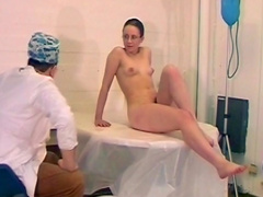Funny sex scene by doctor and his crazy patient
