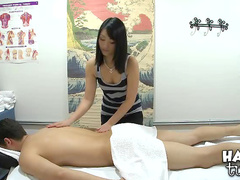 Erotic oil massage and fuck