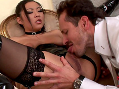 Nice anal penetration for cute Asian Courtney