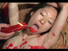 Japanese girl desires kinky bondage