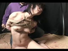 Shibari with young Japanese girl