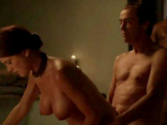 Naughty scenes from Spartacus