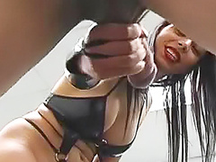 Really rough cock and ball torture
