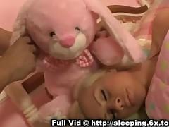 Sleeping Blonde Gets Fingered