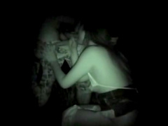Sexy brunette Aya Matsuyuki fucks in the middle of the night