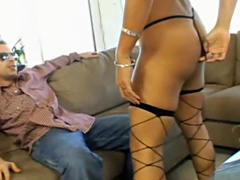 Wonderful and brave Mikita with sexy body is riding on huge cock