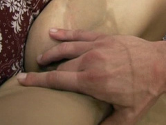 Dark-haired Petra was drilled in her ass