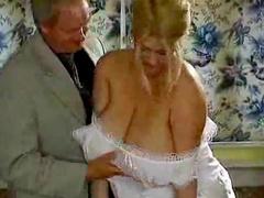 Huge tits girl in corset