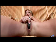 Close up vibrating of pussy