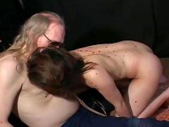 Kinky bondage with sweet Japanese girl