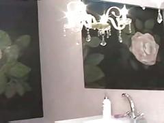 Russian Izida fucked in bathroom