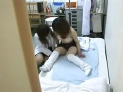 Schoolgirl seduced by female Doctor 1