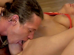 Perverted anal sex with a horny hardcore blonde