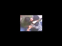 Playful Arab girl gives handjob