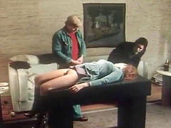 Retro porn cuckold threesome